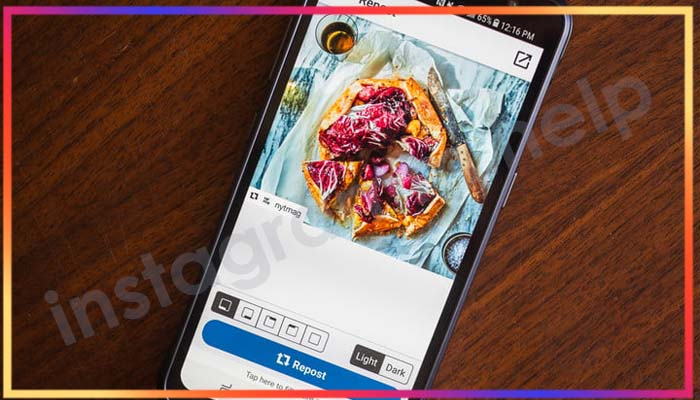 Что такое репост в Инстаграм и как его сделать: фото для примера