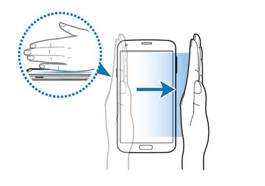 Screenshot in Samsung Galaxy A12