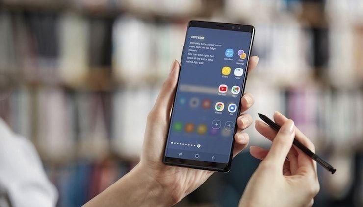 Как сделать скриншот на Samsung Galaxy Note 8: несколько способов