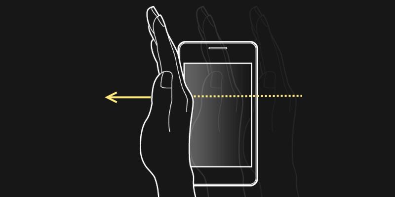 Как сделать скриншот ладонью на Samsung Galaxy