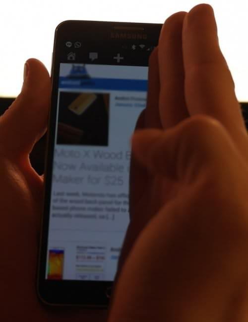 Как сделать скриншот на Samsung Galaxy Note 3 (3 варианта)