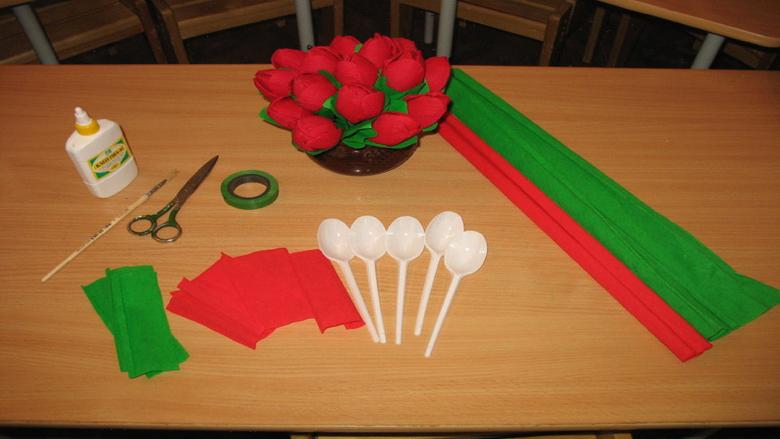 Поделка тюльпаны из бумаги своими руками - подборка интересных пошаговых мастер-классов с фото примерами