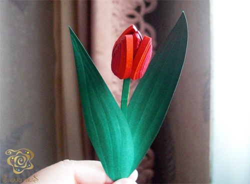 8 идей как сделать тюльпаны из бумаги своими руками