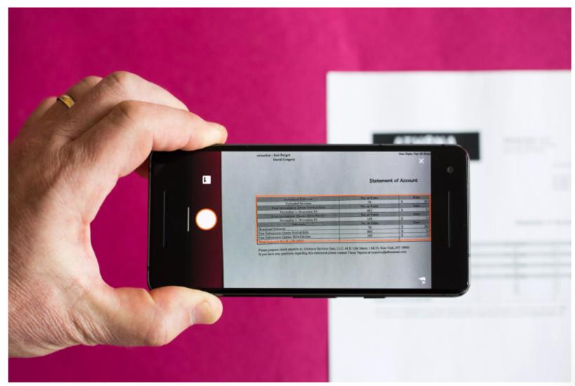 Microsoft Excel теперь может оцифровать таблицу из фото