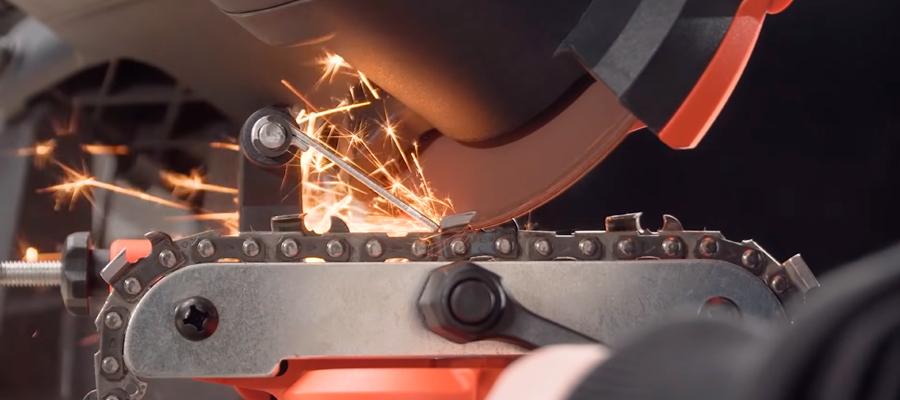 Заточка цепи бензопилы своими руками - особенности и способы