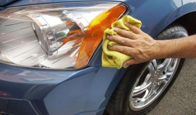 Как убрать царапины на пластике бампера с покраской и без
