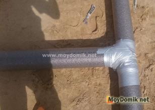 Утепление канализации в частном доме – теплоизоляция труб в земле
