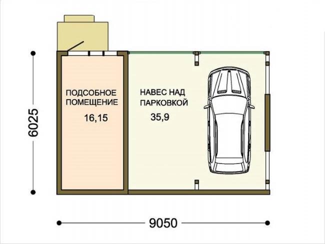 Ленточный фундамент под гараж своими руками