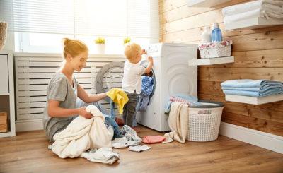 Как постирать пуховик в стиральной машинке