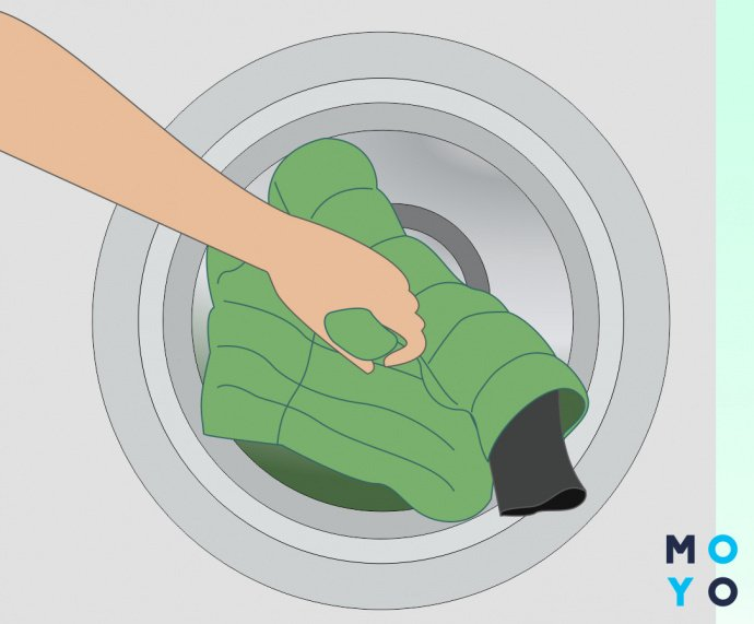 Как стирать на режиме пуховик в стиральной машине