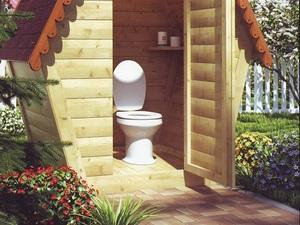 Унитаз для дачного туалета; готовые и самодельные конструкции