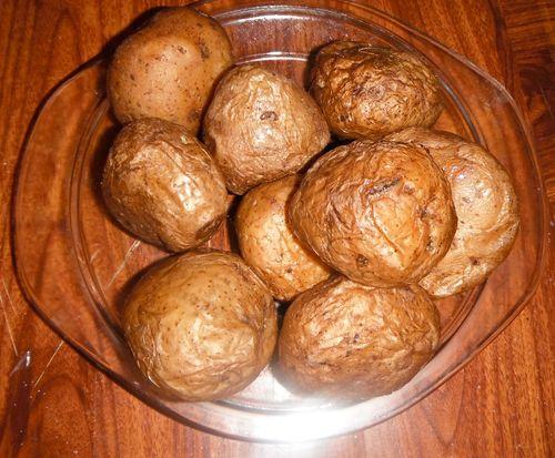 Картофель в микроволновке: рецепты с фото