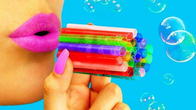 Мыльные пузыри, как из магазина — как сделать в домашних условиях