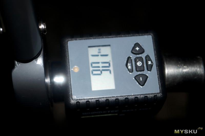 Цифровой динамометр 10-200 Нм