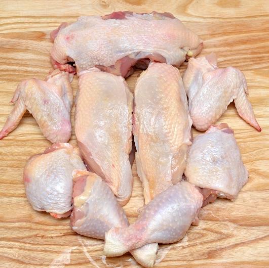 Разделка курицы: схемы, нормы, технологии