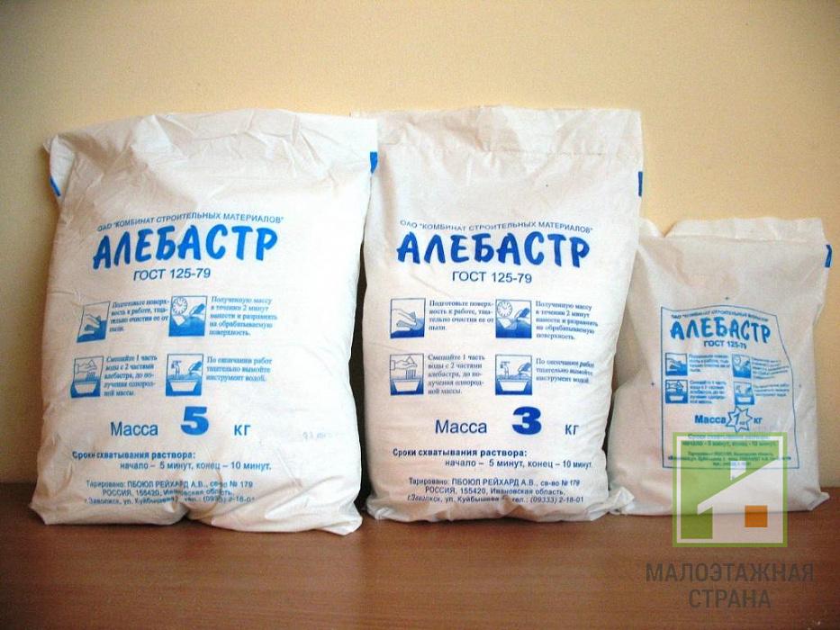 Как разводить алебастр – особенности приготовления раствора