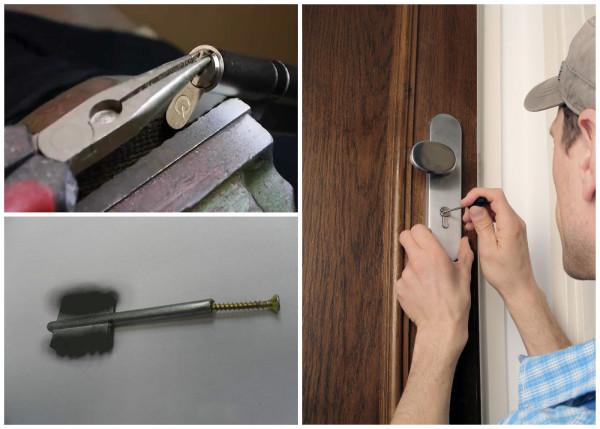 Как извлечь сломанный ключ из дверного замка