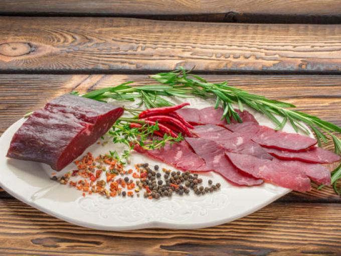 Готовим дома вяленое мясо