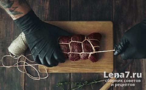 Как вялить мясо в домашних условиях