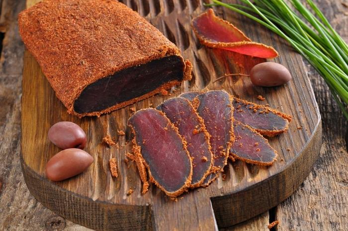 Как приготовить вяленое мясо в духовке
