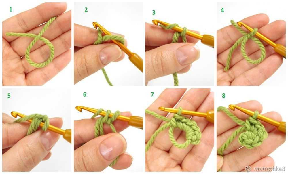 Кольцо амигуруми крючком для начинающих мастер класс