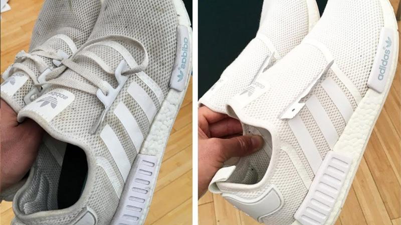 Как заклеить дырку в кроссовках