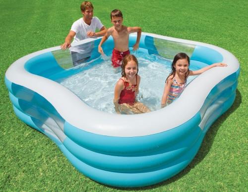 Чем заклеить каркасный бассейн