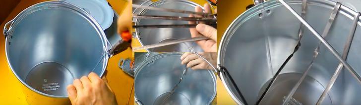 Коптильня из ведра своими руками: пошаговая инструкция с фото