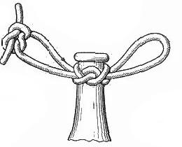 Амфорный (бутылочный) узел