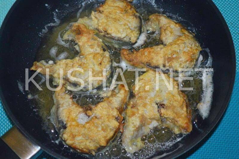 Жареная скумбрия на сковороде. Пошаговый рецепт с фото