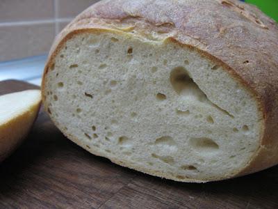 Хлеб пшеничный на сыворотке (в духовке); рецепт с фото на