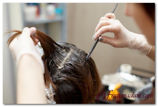 Окраска седых волос натуральными красителями в домашних условиях