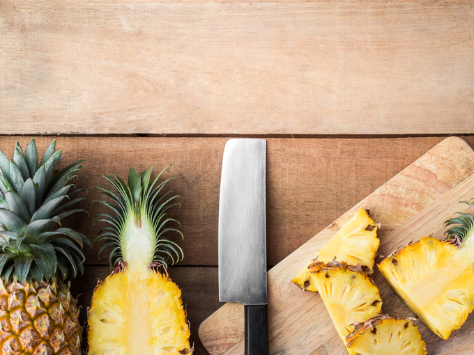 4 способа подать ананас