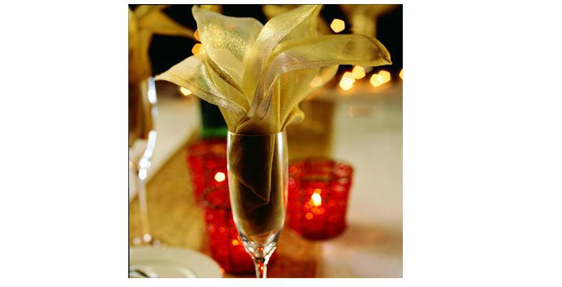 Узнаем как красиво сложить салфетки в стакан: фото, инструкция