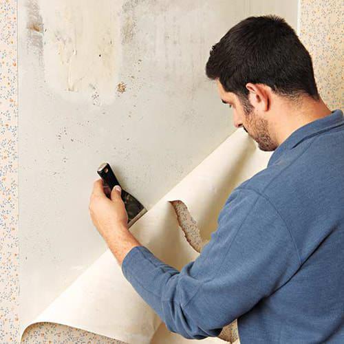 Как снять флизелиновые обои со стен: быстрые способы ремонта