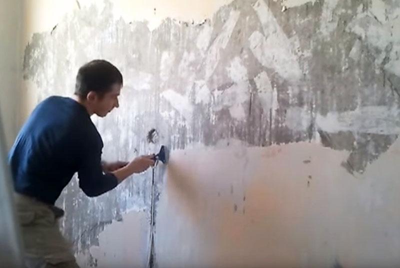Как снять виниловые обои со стены легко и быстро