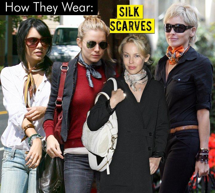 Как правильно и красиво носить шарф