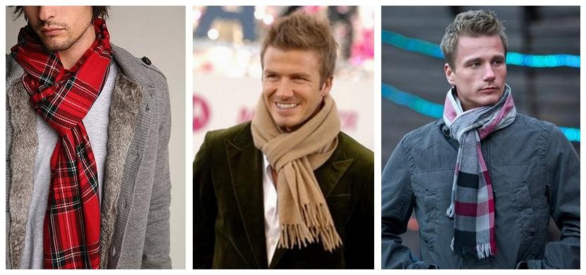 Как красиво завязать мужской шарф – парижский узел