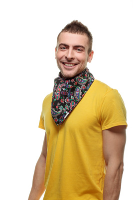 Как из платка сделать повязку на голову — идеи с фото