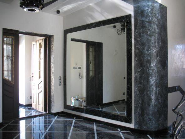 Как закрепить зеркало в доме своими руками