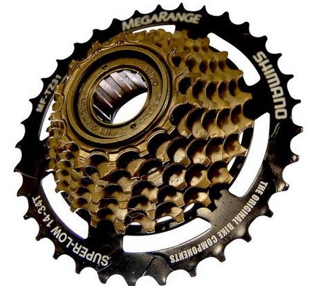 Как разобрать или собрать заднее колесо скоростного велосипеда