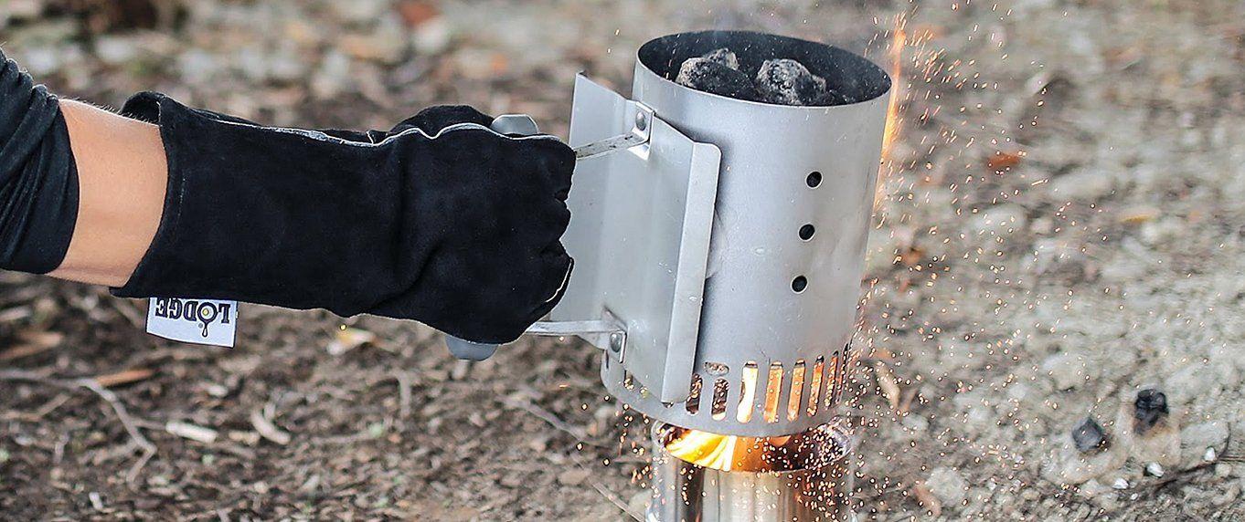 С одной спички. 6 способов быстро разжечь угли для мангала