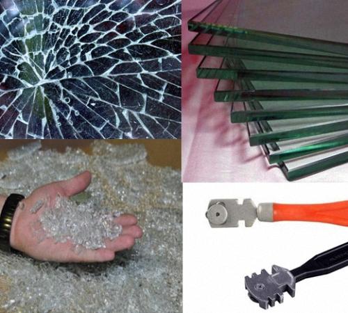 Как выбрать стеклорез и резать стекло в домашних условиях без сколов и трещин
