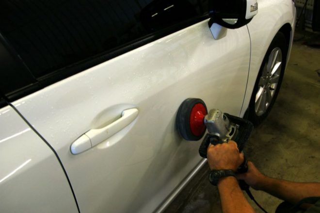 Секреты правильной полировки кузова автомобиля