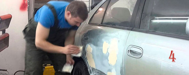 Подготовка автомобиля к покраске: пошаговая инструкция