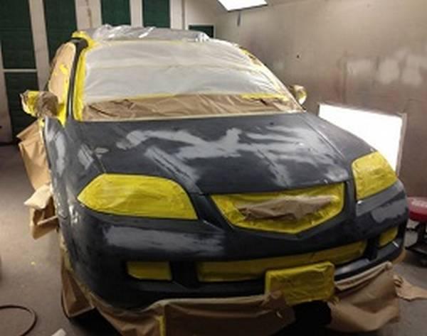 Как покрасить автомобиль в домашних условиях; советы для автомобилиста