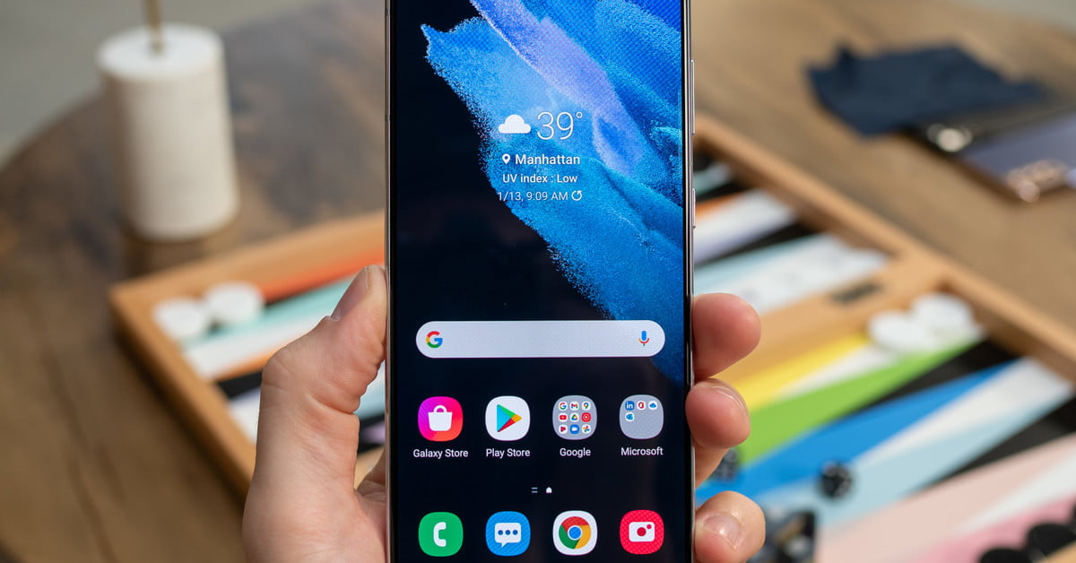 Как сделать снимок экрана на Samsung Galaxy S21