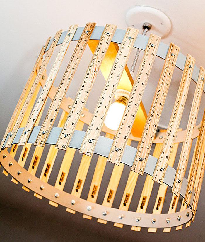 Бюджетная реставрация домашних светильников: обзор абажуров, изготовленных своими руками
