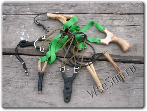 Как сделать самодельную рогатку в домашних условиях. Охотничья рогатка: техника стрельбы, советы по выбору, мастер-класс по изготовлению. Самодельная рогатка для охоты