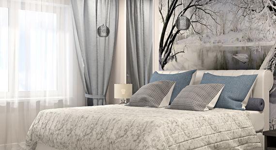 Как украсить стены за кроватью в спальне: 20 интересных способов